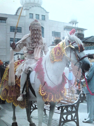 White Indian Wedding Horses hire London