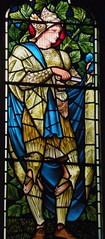 St Martin, Hatfield (robin.croft) Tags: church martin stainedglass hatfield tours anglican hertfordshire burnejones etheldreda morrisco