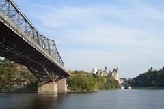 Alexandra Bridge (Elven May) Tags: ottawariver rideaucanal alexandrabridge chteaulaurier
