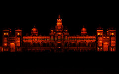 Mysore Palace - Explored (Falling Dreams) Tags: light india art history festival museum canon flickr indian palace falling explore desi tradition mysore shining 2009 hpc mysorepalace indianart   explored mahel  40d   canon40d  fallingdreams
