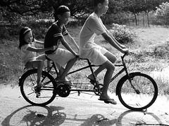 Biking in the farm (.emong) Tags: bw bike sanantonio children lumix philippines panasonic zambales lx3 sibsphoenix