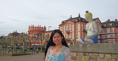 Wiesbaden Biebrich Schloss (let) Tags: castle germany deutschland wiesbaden hessen schloss rhein schlosspark rheinufer hesse biebrich