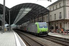 Olten (Wesley van Drongelen) Tags: train zug autobahn bls trein rola landstrasse olten rollende rollendelandstrasse re485 rollendeautobahn