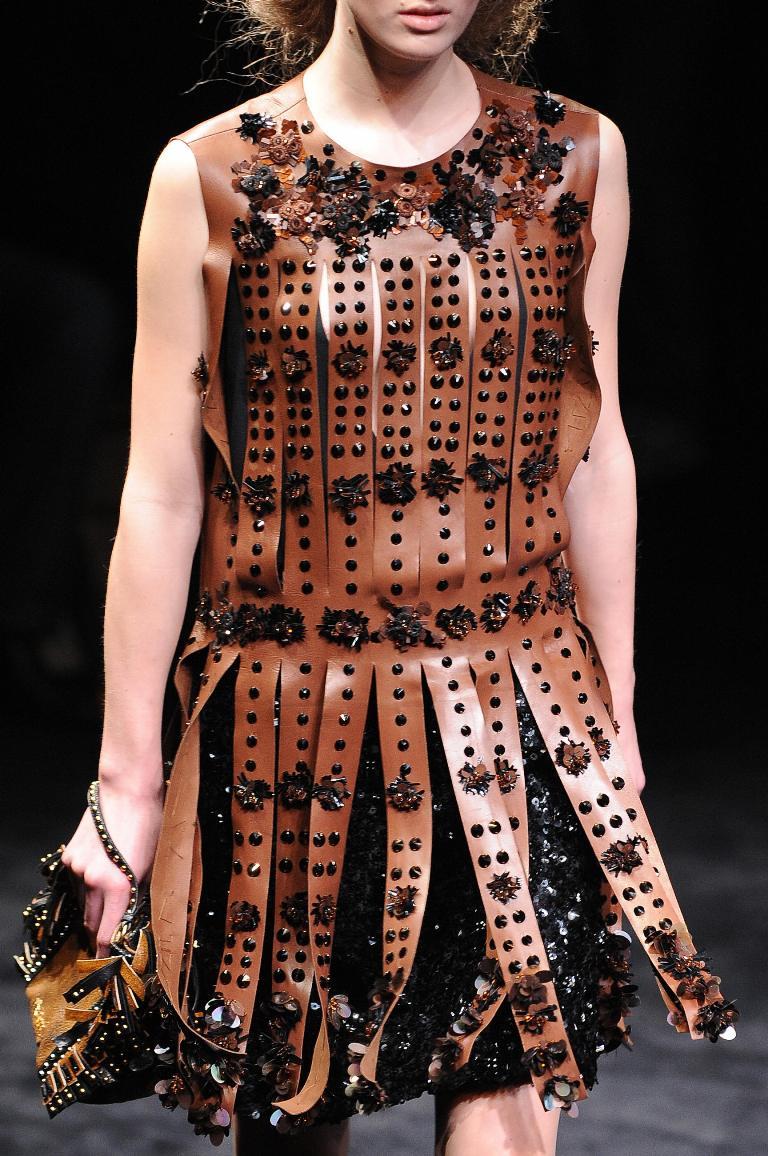 Prada FW2010 Centurion dress 5