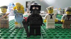 Black ARF Trooper, LEGO (brickpics518) Tags: shadow trooper black star lego battle arf f r legos wars clone droid troop droids legoes brickboys518