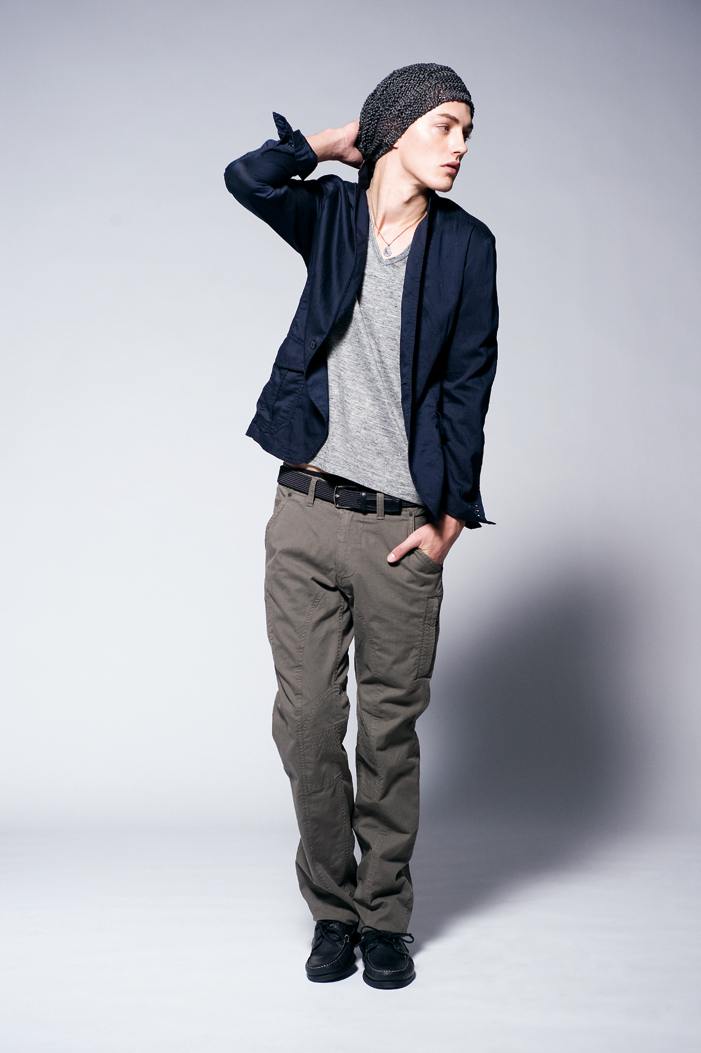 Jakob Hybholt0209_JOSEPH HOMME CASUAL 2011 Spring-Summer Collection(Official)