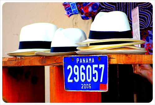 Panama hats in Casco Viejo