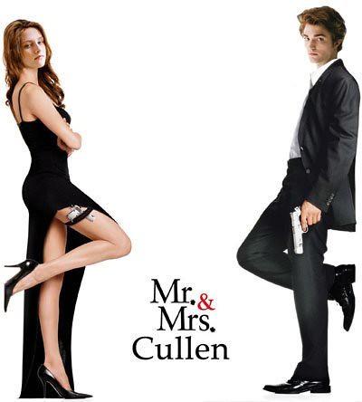 Mr. & Mrs Cullen by meltawaybaby.