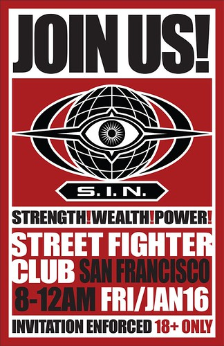 Street Fighter Fight Club poster