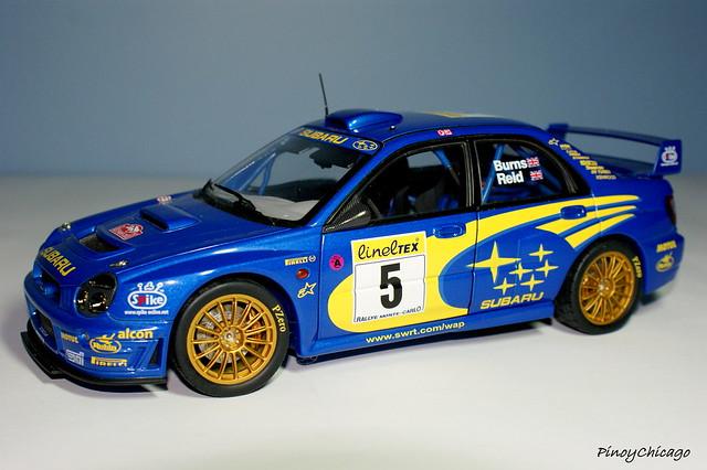 One of my Collection.Subaru WRX sti WRC by Autoart.