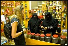 Oman Salalah Shopping (jjay69) Tags: vacation holiday shop shopping women perfume gulf muslim islam middleeast hijab tourist arabic gifts arab niqab visitor oman jars incense gcc islamic arabi arabwoman burka salalah sultanateofoman dhofar dhofarregion muslimcountry