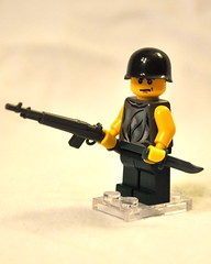 Nam era US Marine (The Ranger of Awesomeness) Tags: war lego vietnam minifig brickarms