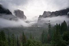 "Yosemite-""Late Afternoon Winter"".jpg (YOSEMITEDONN) Tags: california trees winter snow mountains beautiful fog clouds photo nationalpark bravo flickr explore yosemite classique beautybeautiful impressedbeauty wowiekazowie reflectyourworld"