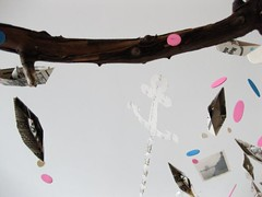 Baby Sailor Eco-friendly Art Mobile (YUMMY! INK) Tags: sanfrancisco baby newyork berlin fashion collage vintage tokyo design losangeles illustrations screenprinting printmaking kodachrome organic oldpictures sailor elegant letterpress chanel mixmedia designsponge eggleston homedecoration c