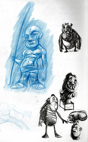 Random sketches - Jan 09