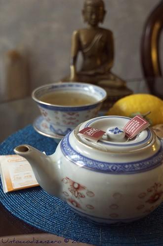 Ginger & lemon tea...