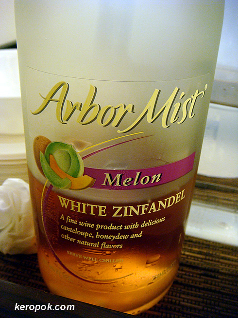 Melon Wine, only 6% :-)