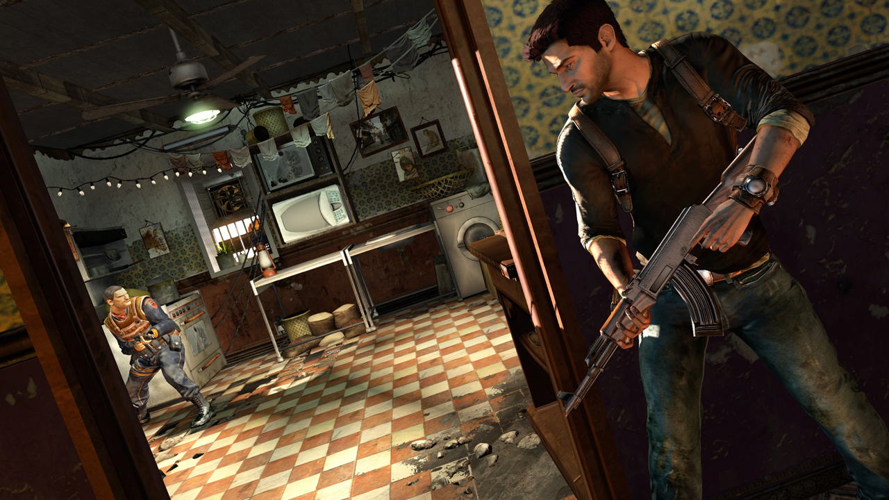 Uncharted 2 Among Thieves juego