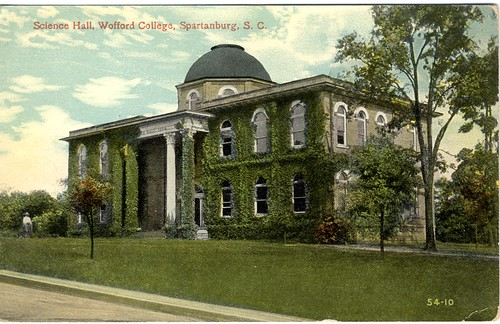"""Science Hall, Wofford College, Spartanburg, S.C."""