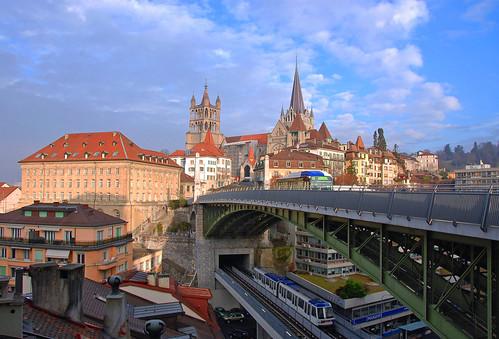 Un jour à Lausanne by svenjick