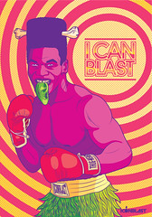 I CAN BLAST POSTERS #4 (Victor Ortiz - iconblast.com) Tags:
