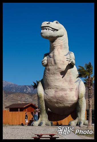 Cabazon T-Rex Dinosaur © 2009 Michael Kang