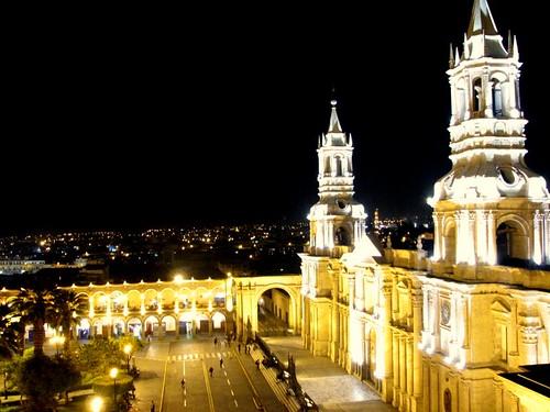 Catedral de Arequipa por morrissey, en Flickr