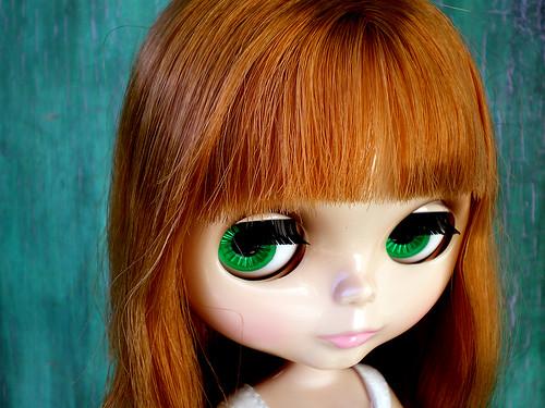 Blythe Prima Dolly Aubrena:  Green Eyes