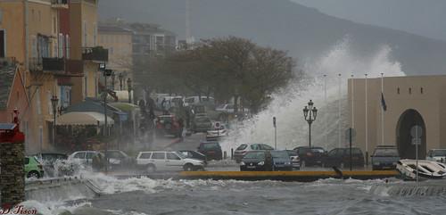 Tempête du 28-11-2008 sur Bastia (photo Cuurdinazione)