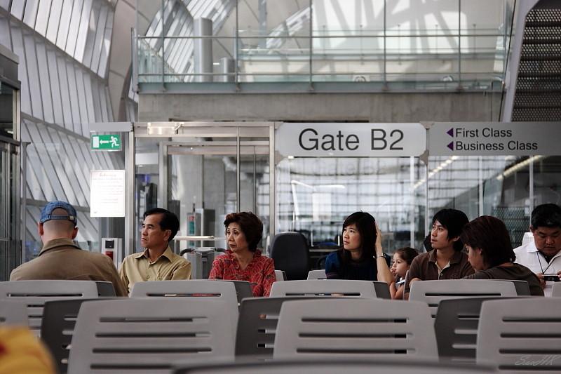 Gate B2 @ Bangkok, Thailand