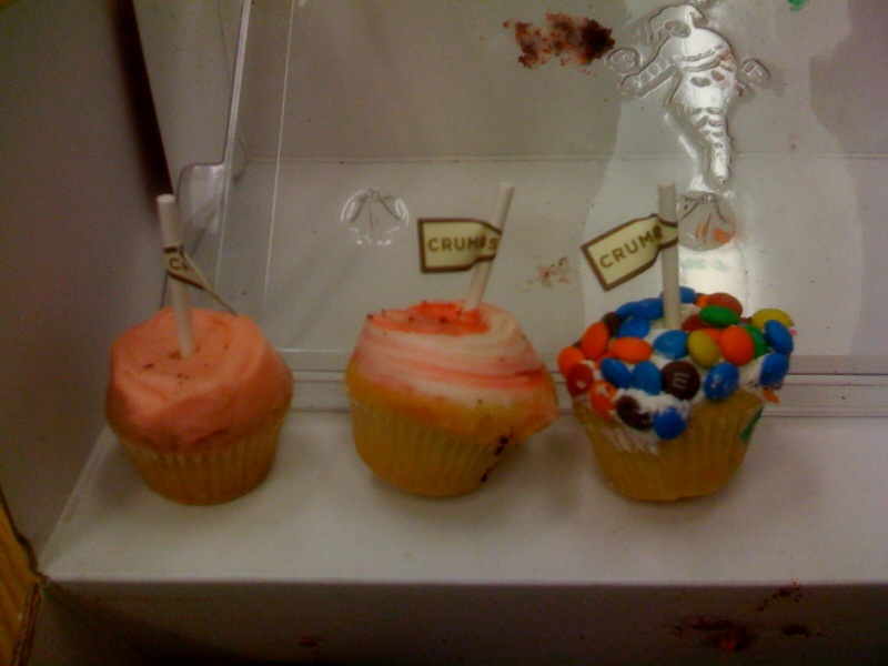 Crumbs Bakeshop mini cupcakes by mail order