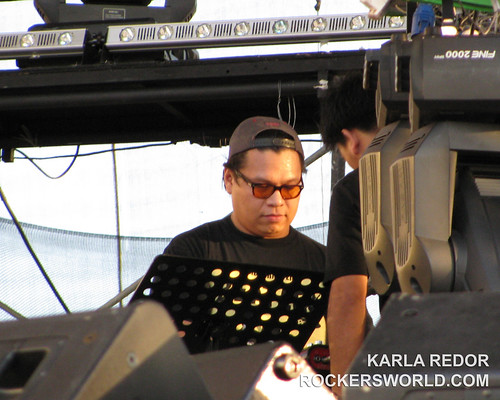 Jazz Nicolas sessioned for the Eraserheads