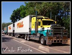 Darwin Linehaul (Tom O'Connor.) Tags: pix fuji south fine australia darwin adelaide northern vicki triple territory roadtrain kenworth foote c501 s5700 linehauls