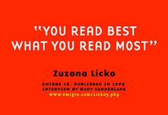 you read best what you read most