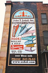 antiquarian & used books sign (lars1021) Tags: ohio building brick art sign by john sold cleveland books used only oh appointment antiquarian bough zubal