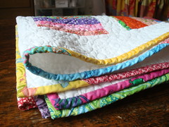 Table Runner Folded (quayandco) Tags: tablerunner piecedbinding nothingbutscraps
