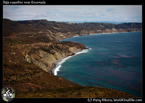 Baja coastline near Ensenada por exposedplanet.