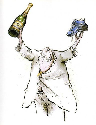 Winespeak - Coarse but generous - Ronald Searle
