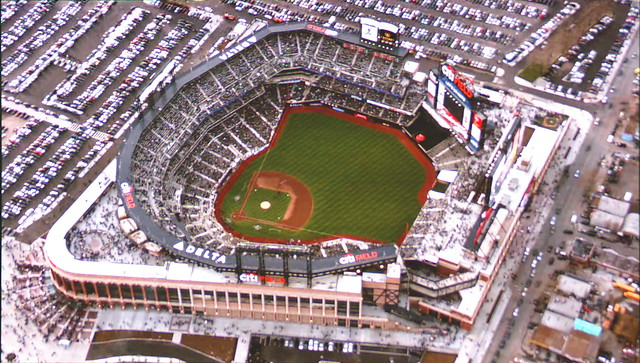 Blimp over Citi