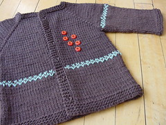 Chocolate Young One Cardi