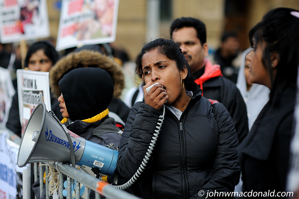 Tamil Protest in Ottawa