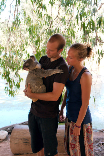 Eli and me with a Koala