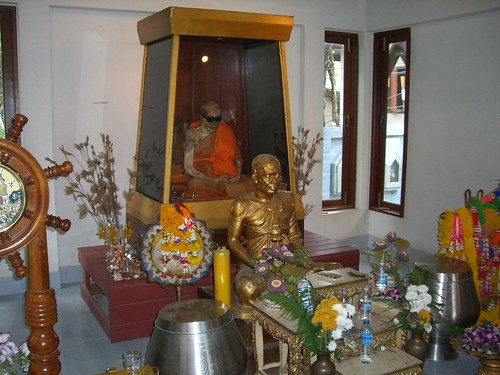 Mummified Monk at Wat Khunaram