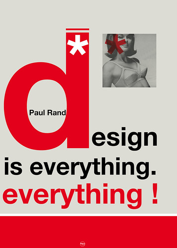 paul rand : design is everything. everything por hulk4598.