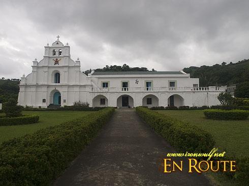 Biking Batan Island Mahatao Church