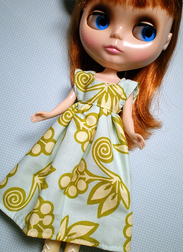 Clementine Louisa in Heather Bailey Fabric Dress by Dollymolly