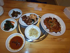 Korean dishes