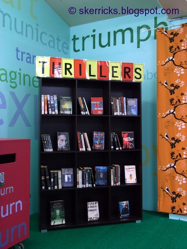 bookcase thrillers