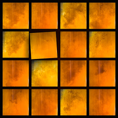 Imperfection (ungemeinfein) Tags: red orange cloud abstract color colour rot water coffee yellow milk wasser kaffee wolke gelb farbe raster imperfection abstrakt milch makel peterrudolph rudolphpeter