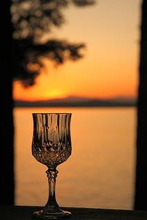 ~A Maine Sunset~